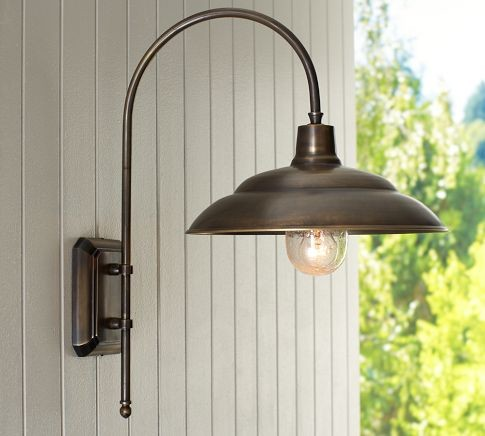 Barnham Sconce - Traditional - Outdoor Wall Lights And Sconces - by Pottery Barn
