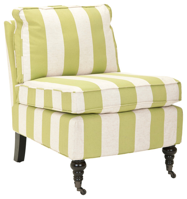 Chair, Multi Stripe - Transitional - Living Room Chairs - by Safavieh