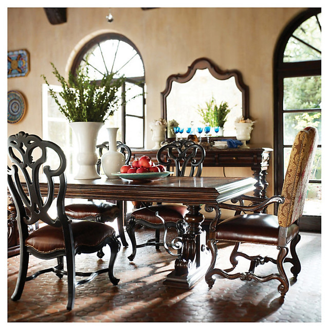 Mediterranean Style Dining Room Sets: Smart Furniture - Mediterranean - Dining