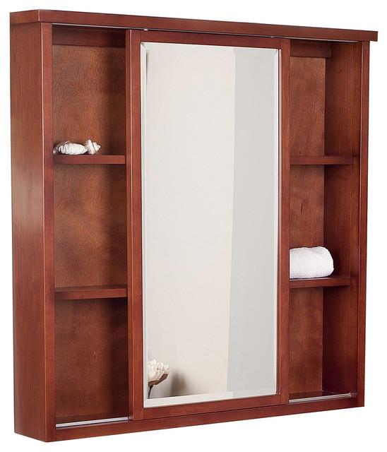 ... Birch Wood-Veneer Medicine Cabinet - Transitional - Medicine Cabinets
