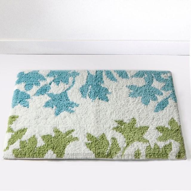 Tapis de bain motif floral 1700g m garden contempor neo alfombrillas d - Tapis de bain la redoute ...