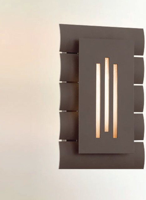 Dayton Outdoor Wall Sconce - Modern - Outdoor Wall Lights And Sconces - by Lightology