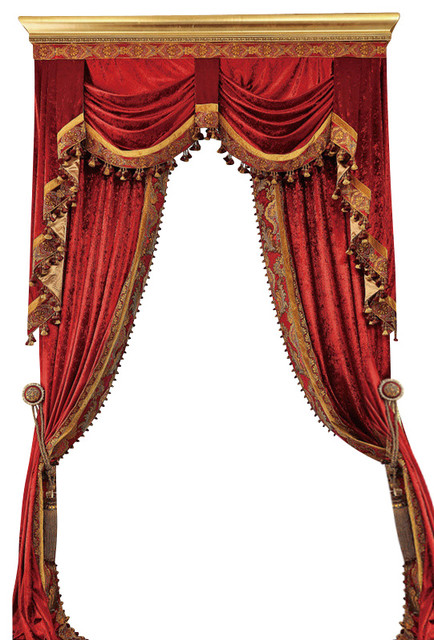 Luxury Velvet Curtains Set