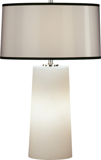 Rico Espinet Olinda Frosted Glass Table Lamp, Black ...