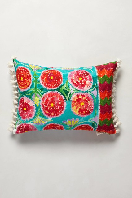 talavera pillow pink eclectic decorative pillows by. Black Bedroom Furniture Sets. Home Design Ideas