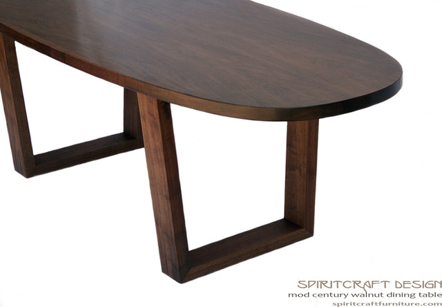 oval dining table with leaf modern 2