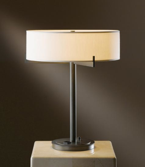 axis table lamp w outlet on base modern table lamps. Black Bedroom Furniture Sets. Home Design Ideas