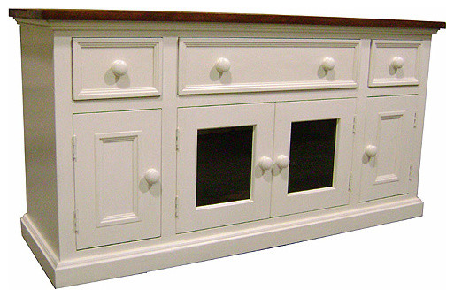 french country console cabinet 3