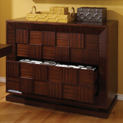 Block Lateral File Cabinet - Filing Cabinets - Miami - by GablesFurniture.com