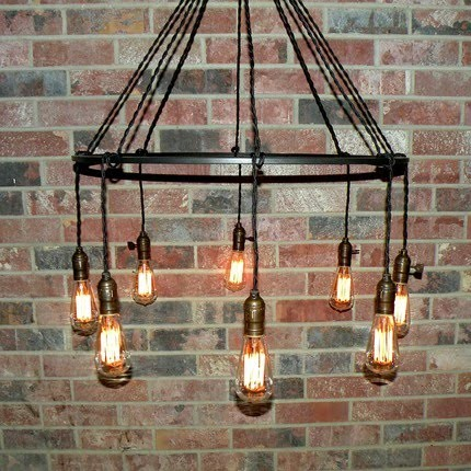 simple wrought iron chandelier. Black Bedroom Furniture Sets. Home Design Ideas