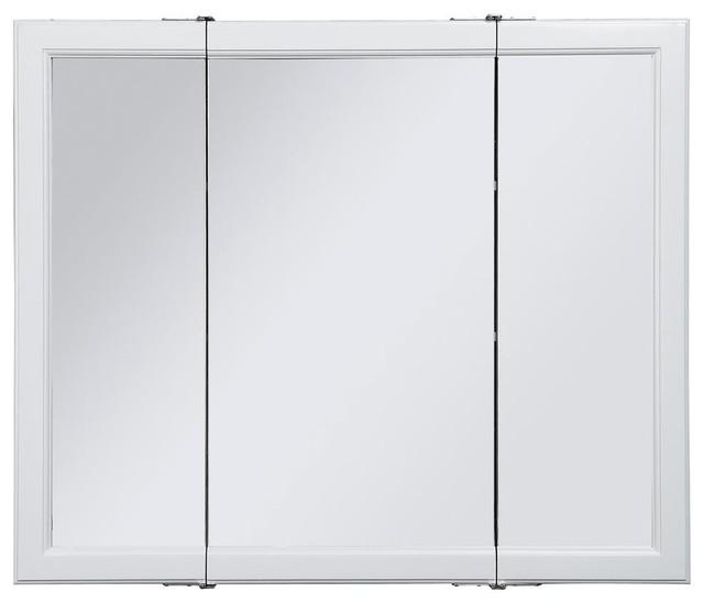 Medicine Cabinet Mirror with Three Doors - Contemporary - Medicine Cabinets - by ShopLadder