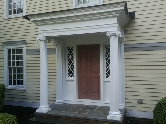Basking Rodge Nj Front Porch Portico