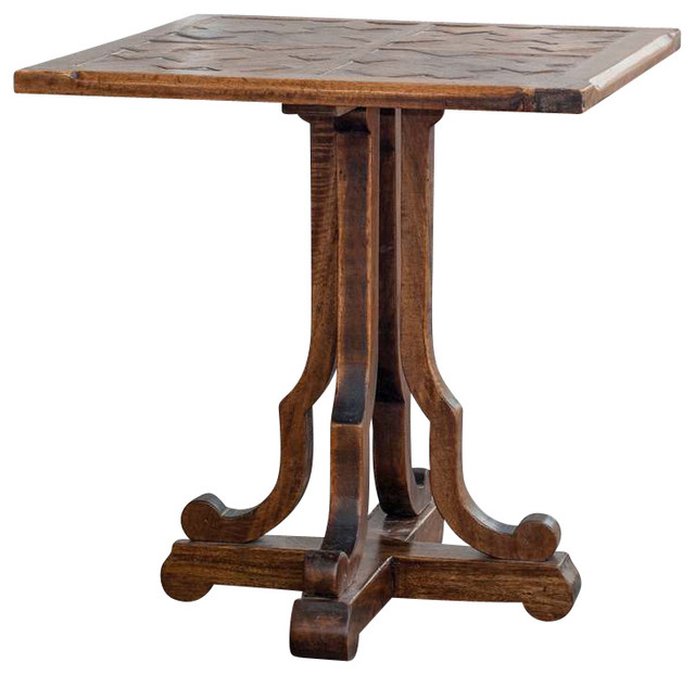 Lucy Mirrored Coffee Table: Uttermost Lucy Squared 24x24 End Table