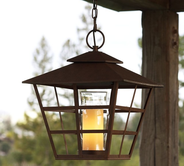 Pottery Barn Harlowe Pendant: Pottery Barn - Traditional - Outdoor