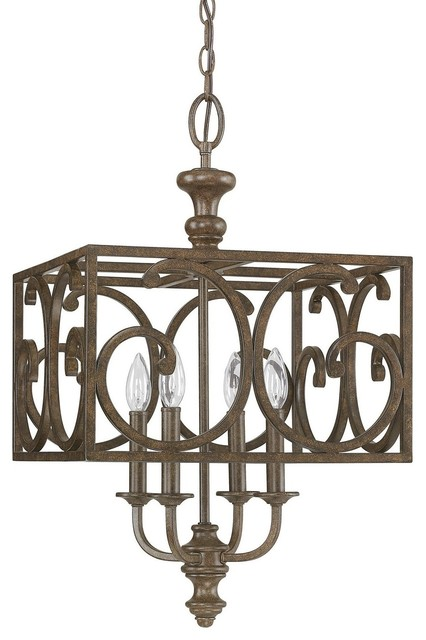 Capital Lighting 4974mt Harrison 4 Light Foyer Fixture