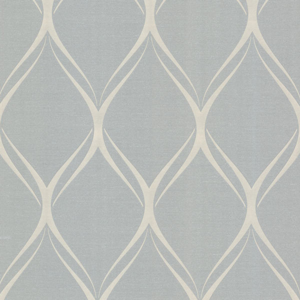 Gustav Grey Geometric Wallpaper Bolt Contemporary