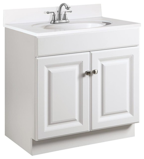 Semi Gloss Vanity Cabinet Contemporary Bathroom Vanities And Sink Consoles By Shopladder