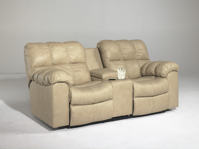 Signature Designs By Ashley Max Chamois Double Recliner