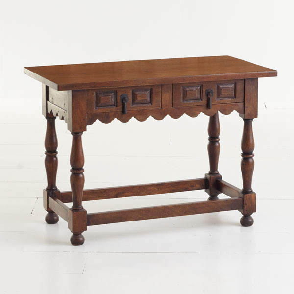 Handmade Scalloped Console - Traditional - Buffets And ...