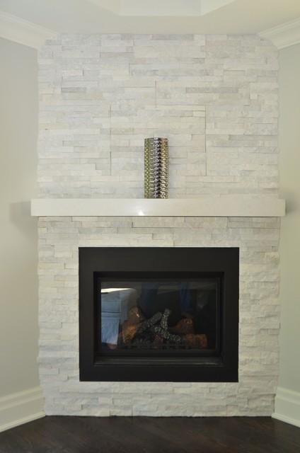 Ledgestone Wallcladding Fireplace