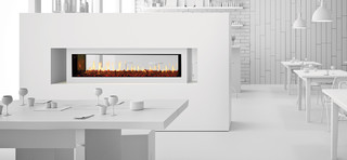 Heat & Glo PRIMO See-Through Gas Fireplace