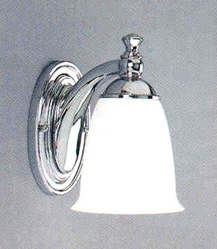 Houzz Bathroom Lighting Fixtures: P3027-15: Polished Chrome One-Light Bath Fixture