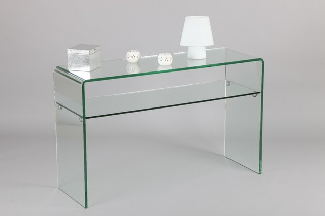 console iris en verre contemporary console tables by inside75. Black Bedroom Furniture Sets. Home Design Ideas