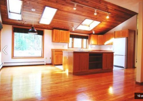 Should i redo or paint my water damaged wood ceilings - Should i paint my ceiling ...