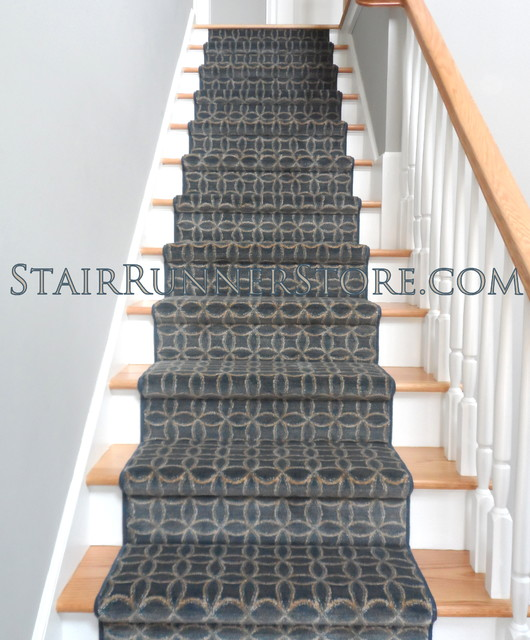 custom made stair runners contemporain tapis de couloir et d 39 escalier new york par the. Black Bedroom Furniture Sets. Home Design Ideas