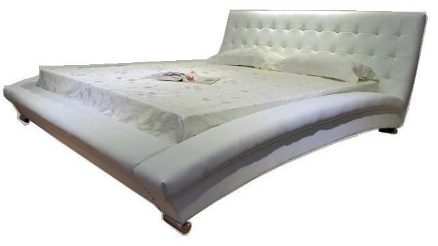 Greatime Home Collections Vinyl Platform Bed Platform Beds Houzz
