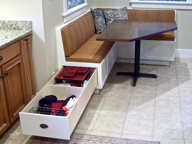 Corner Banquette And Table Classique Table Manger