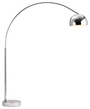 Zuo Modern Galactic Floor Lamp Chrome Midcentury Floor
