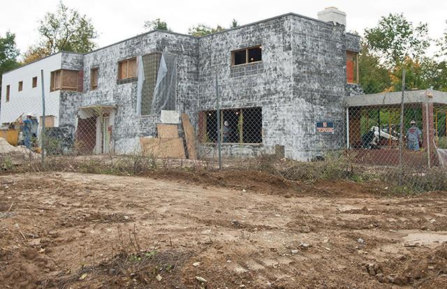Historic Rauh House Restoration