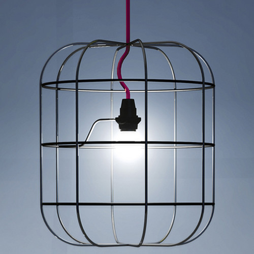 Victoria Large Wire Cage Light