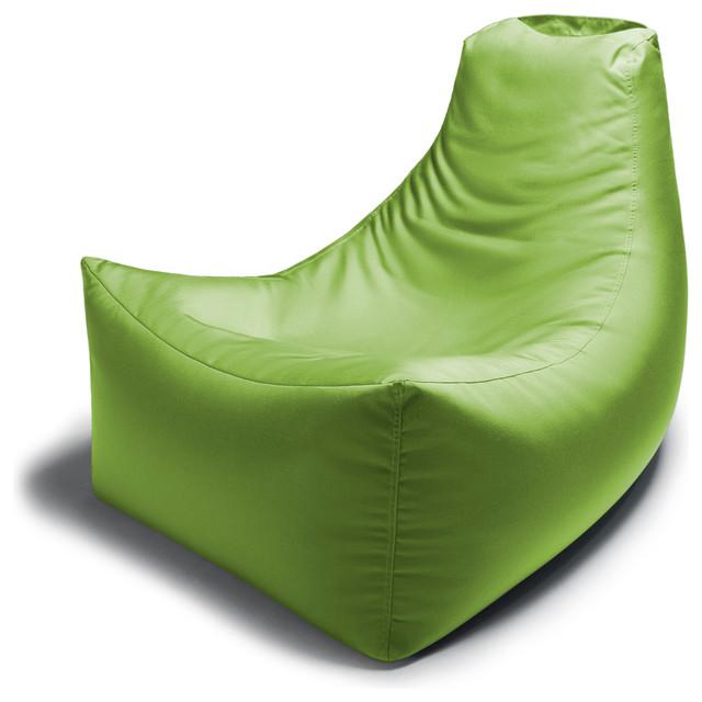 Juniper Outdoor Bean Bag Chair Lime Green Contemporary