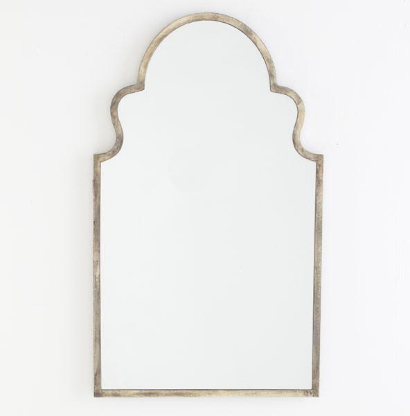 Antiqued Moroccan Mirror Mediterranean By Wisteria