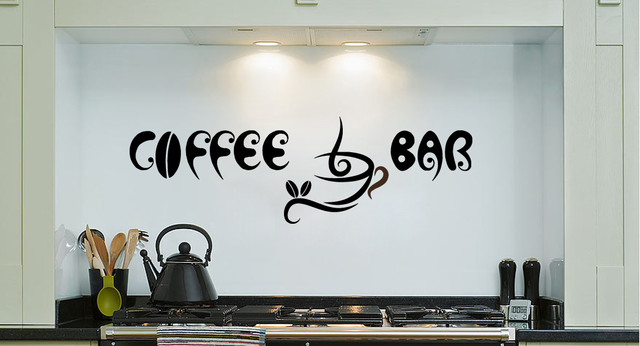 Wall decals for home bar bar wall decals wall stickers for Mural coffee shop