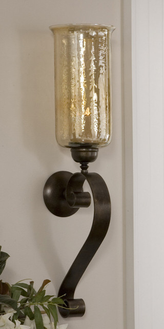Traditional Wall Sconces For Candles : Joselyn, Candle Wall Sconce - Traditional - Wall Sconces - phoenix - by Fratantoni Lifestyles