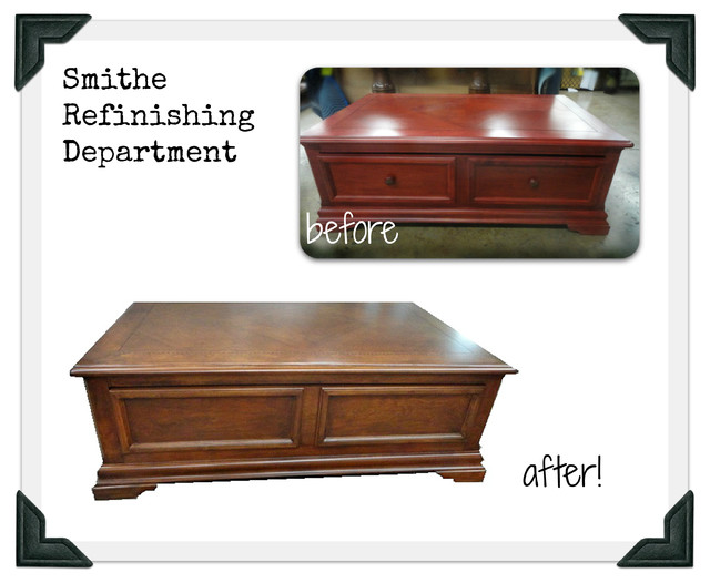 Smithe Reupholstery Wood Refinishing Services