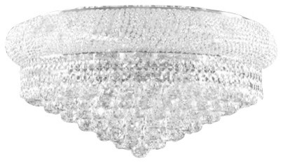 Flush Empire Crystal Chandelier Traditional Chandeliers By Gallery