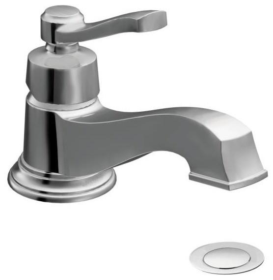 Moen Premium Rothbury Series Bathroom Faucet Single Handle Traditional Bathroom Sink Taps