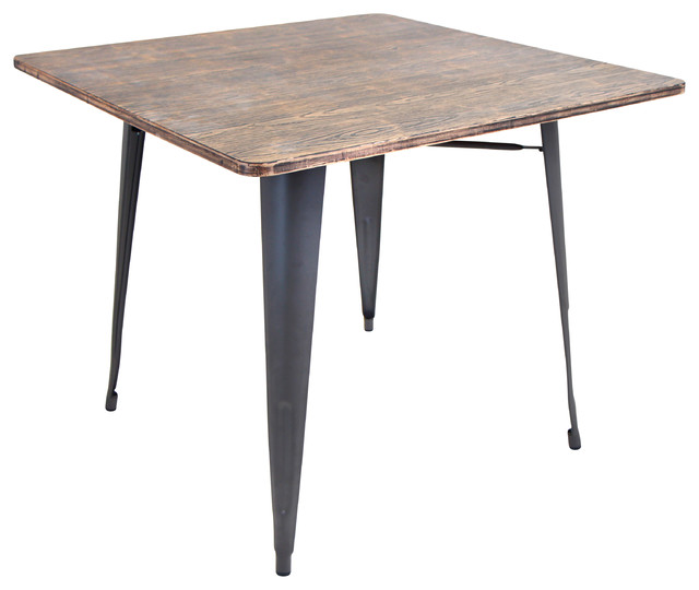 Oregon Dining Table Gray Wood Modern Dining Tables By ETriggerz