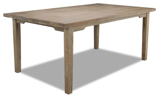 bayfield rectangle dining table rustic dining tables