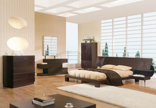 Unique Wood Modern Contemporary Master Beds With Extra Storage Asian Beds Miami By Prime