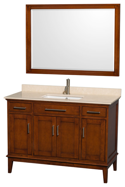 Eco Friendly Single Vanity With Mirror Transitional Bathroom Vanities By Shopladder