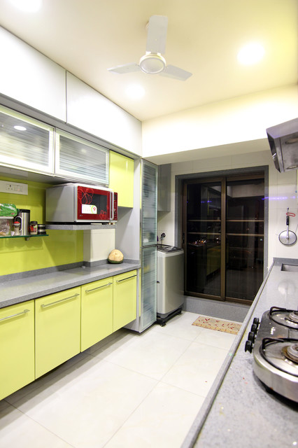 Punjabi residence contemporary kitchen other by focus interiors Kitchen design in punjab