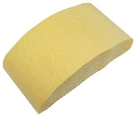 "7-3/4""x3-3/4""x2-1/8"" Half Moon Cellulose Sponge - Scrub Brushes & Sponges - by Greschlers Hardware"