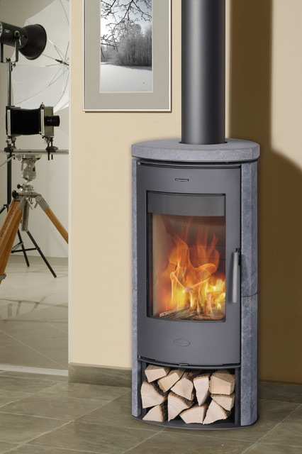 Ceramic stoves - Contemporary wood furniture burning fireplaces ...