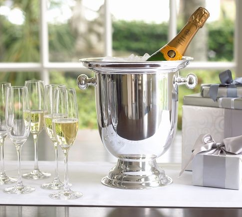 pottery barn champagne bucket 2