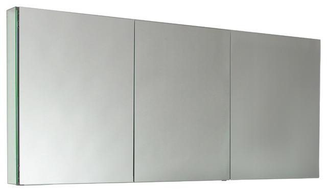 "... 60"" Wide Bathroom Medicine Cabinet, Mirrors modern-medicine-cabinets"